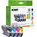 KMP Tinte B58V MULTIPACK ersetzt Brother LC-3217VAL