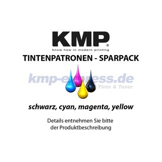 KMP Tinte B74S SPARPACK ersetzt Brother LC-129XLVALBP