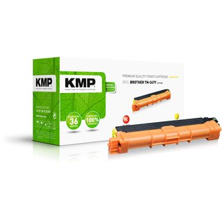 KMP Toner B-T112X (yellow) ersetzt Brother TN-247Y